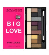 Палетка теней MakeUp Revolution Pro Looks Palette Big Love: фото