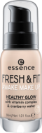 Тональная основа Essence Fresh & fit awake make-up 10 слоновая кость: фото