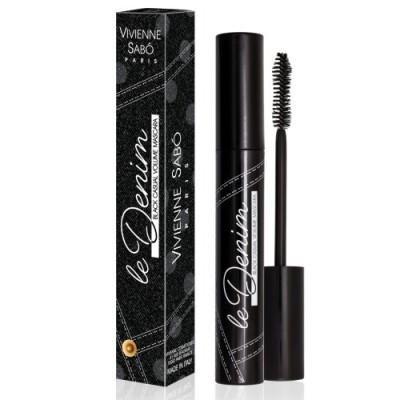 Тушь для ресниц с эффектом ежедневного объема Vivienne Sabo /Casual volume Mascara/ Mascara volume casual effetLe denim тон 1 Black: фото