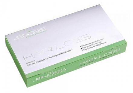 Интенсивный курс против выпадения волос Jenoris Intensive Treatment for Hair Loss 8*10мл: фото