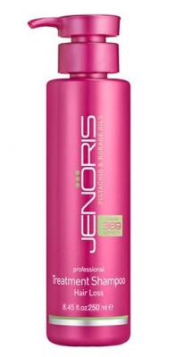 Укрепляющий шампунь против выпадения волос Jenoris Hair Loss Shampoo 250 мл: фото