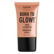 Кремовый хайлайтер NYX Professional Makeup BORN TO GLOW LIQUID ILLUMINATOR - GLEAM 02: фото