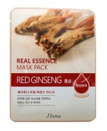 Тканевая маска с красным женьшенем JUNO Real essence mask pack (red ginseng) 25 мл: фото