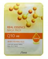 Тканевая маска с коэнзимом Q10 JUNO Real essence mask pack (Q10) 25 мл: фото