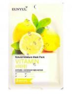 Тканевая маска с витаминами EUNYUL Natural moisture mask pack vitamin 23мл: фото