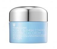 Крем-гель для проблемной кожи MIZON Acence Blemish Control Soothing Gel Cream 50мл: фото