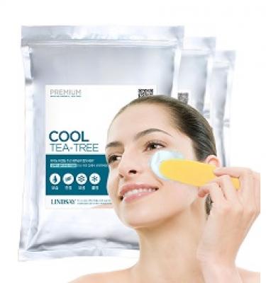 Альгинатная маска с экстрактом чайного дерева LINDSAY Premium cool tea-tree zipper 1 кг: фото