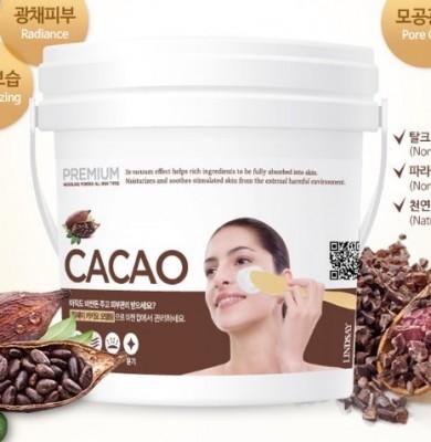 Альгинатная маска с какао LINDSAY Premium cacao modeling mask pack 820 г.: фото