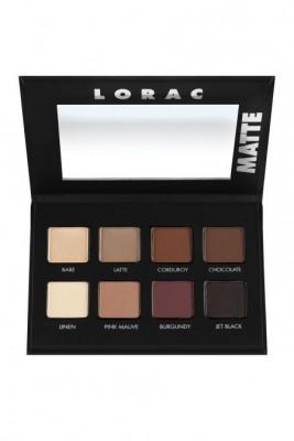 Палетка теней LORAC PRO Matte Eye Shadow Palette: фото