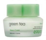 Крем для лица с зеленым чаем It'S SKIN Green tea watery cream 50 мл: фото