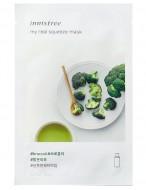 Маска для лица с брокколи INNISFREE My Real Squeeze Mask Broccoli: фото