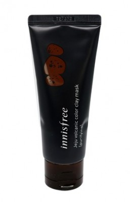 Маска чищающая с глиной INNISFREE Jeju Volcanic Color Clay Mask Black Purifying: фото