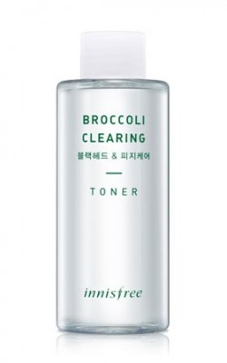 Тонер с экстрактом брокколи INNISFREE Broccoli Clearing Toner: фото
