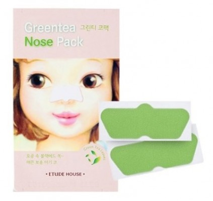 Очищающие полоски для носа ETUDE HOUSE Gree Tea Nose Pack: фото