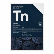 Маска тканевая с древесным углем MISSHA Phytochemical Skin Supplement Sheet Mask (Tannin/Purifying): фото