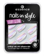 Накладные ногти на клейкой основе ЕSSENCE Nails In Style 05 белый хамелеон: фото