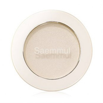 Тени для век мерцающие THE SAEM Saemmul Single Shadow Shimmer WH01 2гр: фото