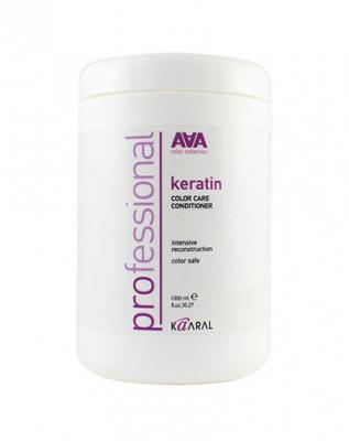 Кондиционер кератиновый для востановления окрашенных и химически обработанных волос Kaaral Keratin Color Care Conditioner 1000мл: фото