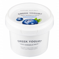 Маска йогуртовая от морщин с экстр. черники GREEK YOGURT PACK_BLUE BERRY (ANTI-WRINKLE) 130мл: фото