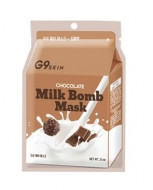 Маска для лица тканевая Berrisom G9 SKIN MILK BOMB MASK-Chocolate 21мл: фото