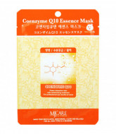 Маска тканевая коэнзим MJ Care Coenzyme Q10 Essence Mask 23гр: фото