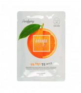 Маска для лица освежающая Welcos Kwailnara Orange Purifying Facial Mask: фото