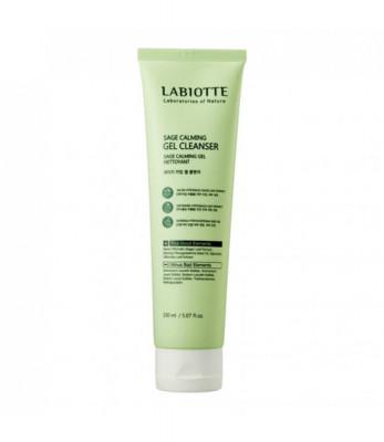 Гель для умывания успокаивающий Labiotte SAGE CALMNG GEL CLEANSER 150мл: фото