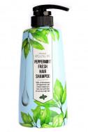 Шампунь для волос Welcos Around me peppermint Hair Shampoo 500мл: фото