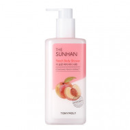 Гель для душа с персиком Tony Moly The Sunhan Peach Body Shower 500 мл: фото
