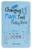 Пилинг для ног Tony Moly Changing U Magic Foot Peeling Shoes 17мл*2: фото