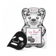 маска для лица SNP Ice Bear Charcoal Mask 33мл: фото