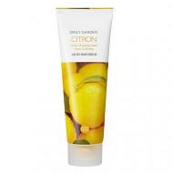 Пенка для лица с экстрактом цитруса Holika Holika Daily Garden Goheung Citron Fresh Cleansing Foam 120 мл: фото