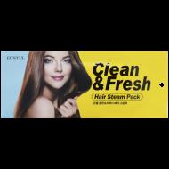 Маска-шапочка для волос с маслом подсолнечника EUNYUL CLEAN & FRESH HAIR STEAM PACK 40g: фото
