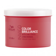 Маска-уход для защиты цвета окрашенных нормальных и тонких волос Wella Professional 500мл: фото