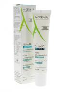 Флюид против дефектов кожи, склонной к акне A-Derma Phys-AC PERFECT 40 мл: фото