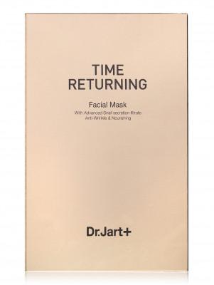 Time Returning Антивозрастная маска с муцином улитки 20г: фото