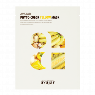 Маска осветляющая Avajar Phyto-Color Yellow Mask 10шт: фото