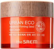 Крем для кожи вокруг глаз укрепляющий THE SAEM Urban Eco Harakeke Firming Seed Eye Cream 30мл: фото