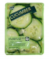 Маска тканевая с огурцом May Island Real Essense Cucumber Mask Pack 25мл: фото