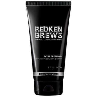 Гель для укладки волос Redken Brews Extra Clean Gel 150 мл: фото