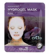 Осветляющая гидрогелевая маска с жемчугом MBeauty Hydrogel Mask Pearl 25г: фото