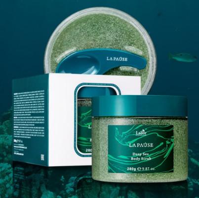 Скраб для тела с морской солью La'dor LA-PAUSE DEEP SEA BODY SCRUB 280г: фото