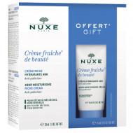 Набор для нормальной кожи лица Nuxe CREM FRAICHE DE BEAEUT: крем 30 мл + крем 15 мл: фото